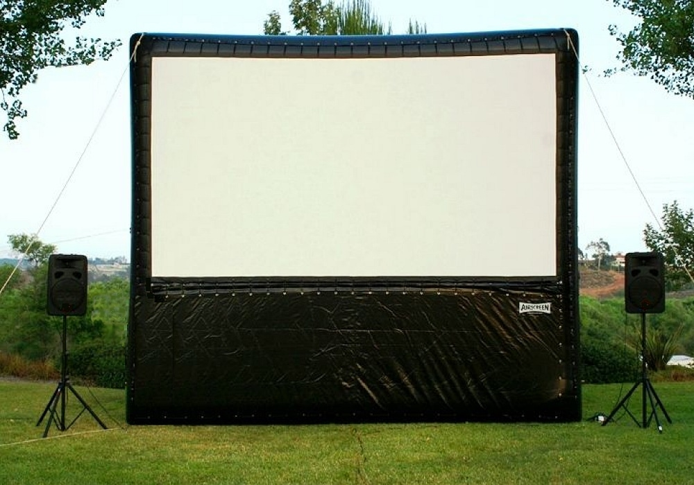 16 foot outdoor cinema