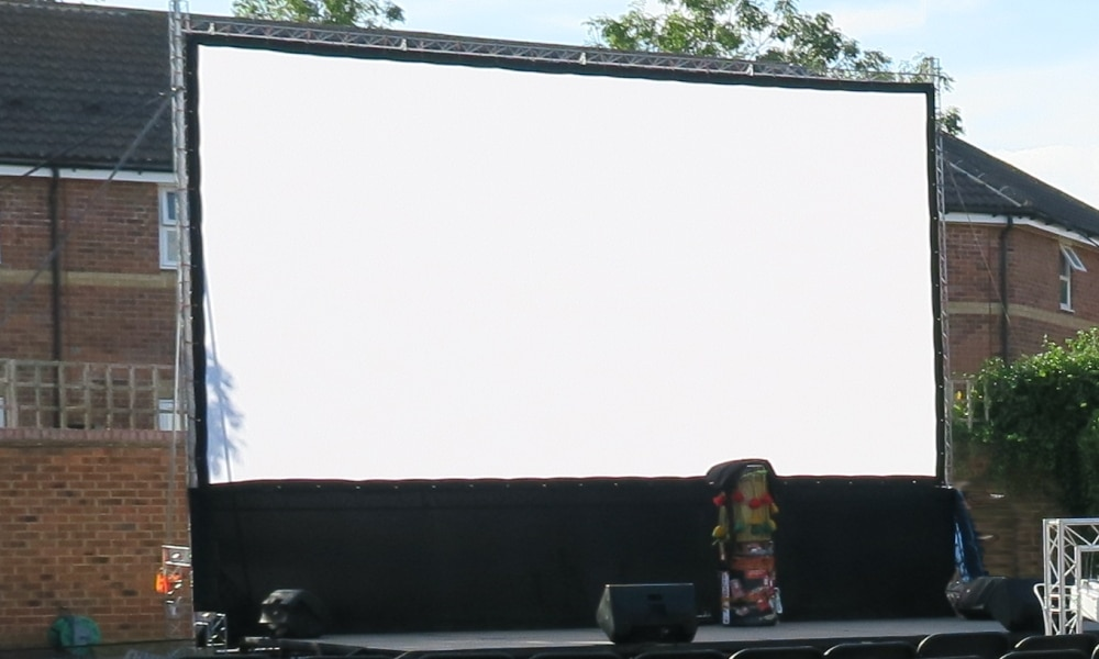 16 Foot outdoor cinema package