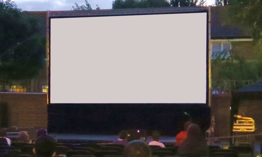 Large Outdoor Cinema System
