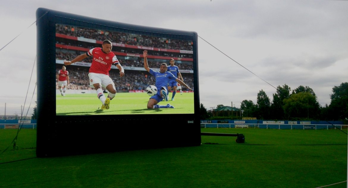 Outdoor Cinema for Football Clubs
