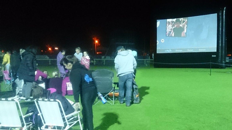 charity fundraising outdoor cinema